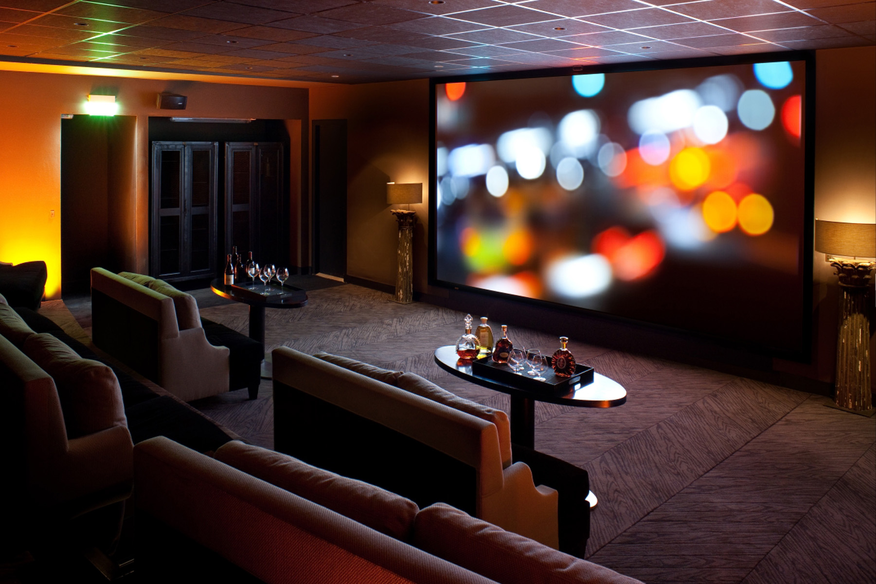 Private theatre room Paris